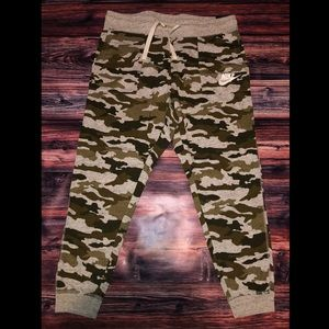 Plus Size Nike Camo Lounge Pants